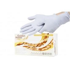 Одноразовые перчатки XS Golden Hands
